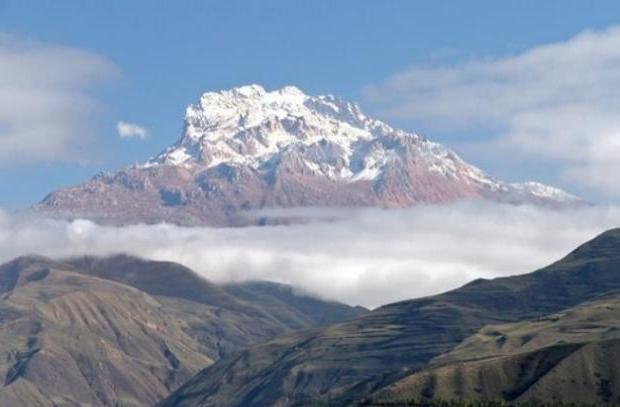 Высота горы Шалбуздаг