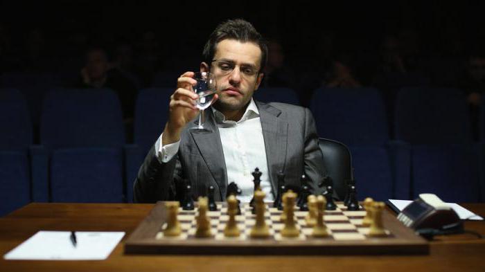 Левон Аронян шахматист