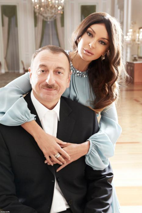 Мехрибан Алиева в молодости