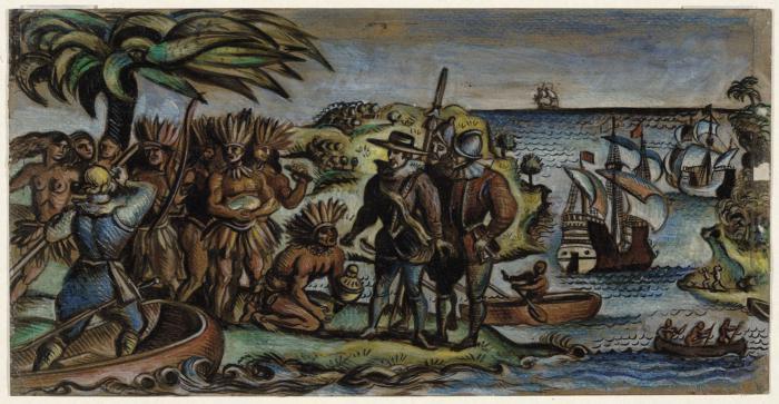 История открытия Северной Америки