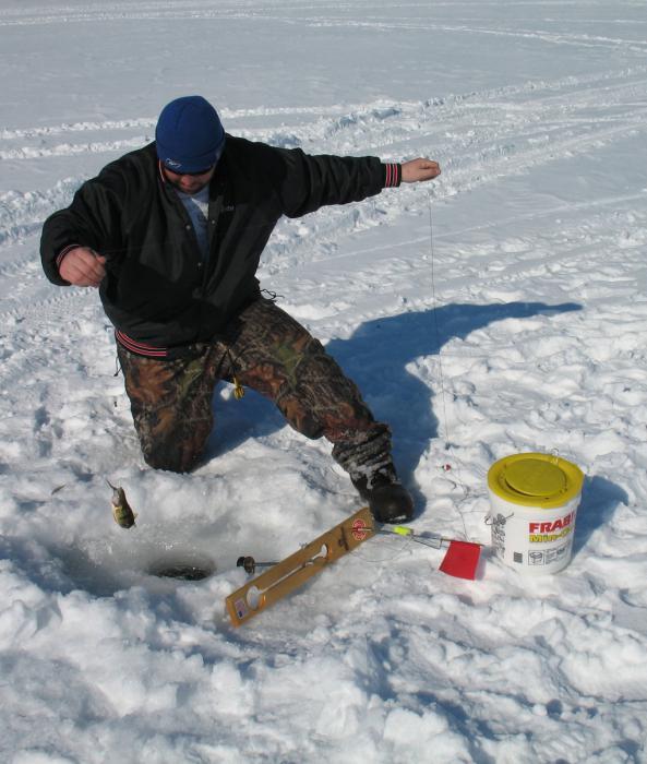 Ловля ротана по первому льду