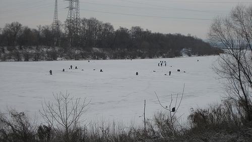 Зимняя рыбалка в Рязанской области