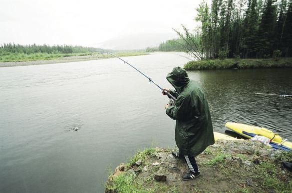 Весенняя рыбалка в Оренбургской области