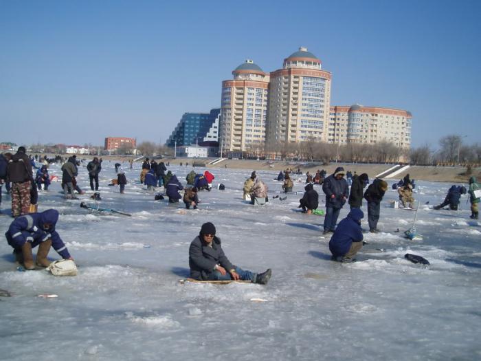 Рыбалка в Оренбургской области зимой