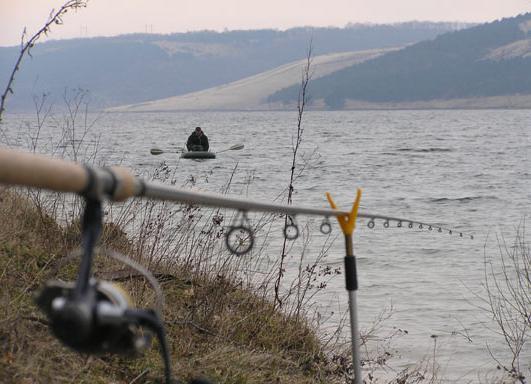 Рыбалка на Днестре Хмельницкая область