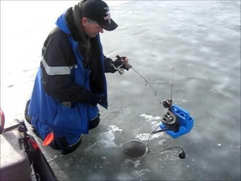 Снасти для ловли судака зимой