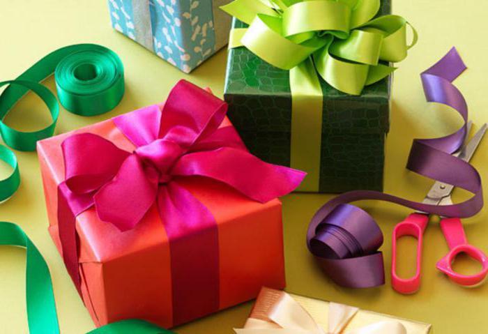 Подарок что значит