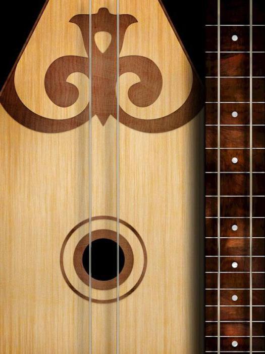 Музыкальный инструмент домбра