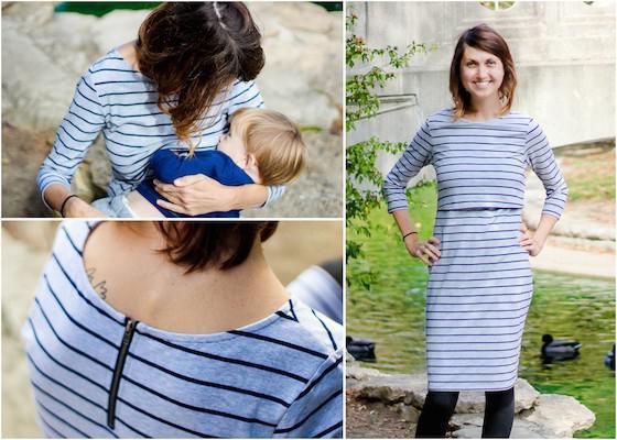 летние платья для кормящих мам