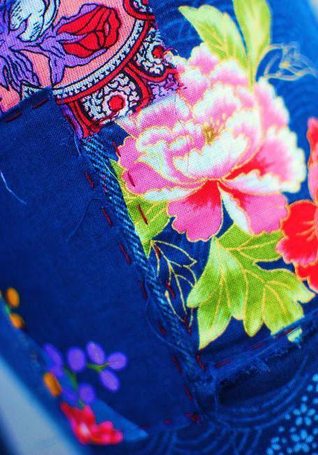 лоскутное шитье из джинсов фото