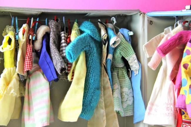 как сшить одежду для барби