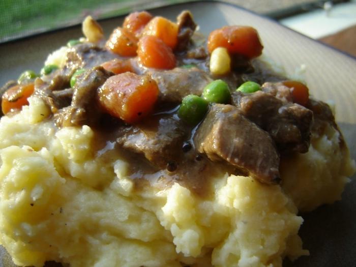 Мясо с картошкой в мультиварке рецепт с пошагово
