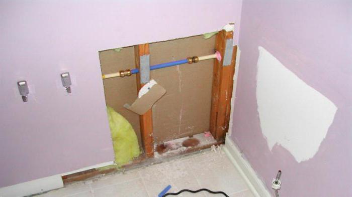 замена труб в туалете и в ванной виды труб