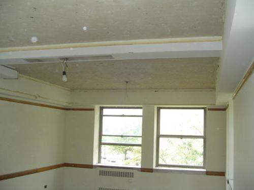натяжной потолок как снять