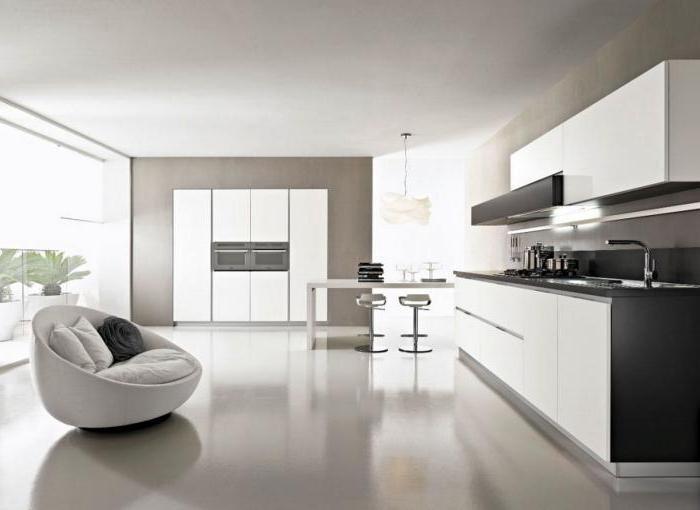 кухни отдельными модулями