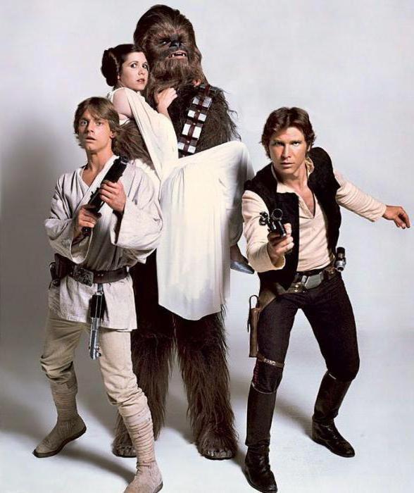 Кто играл Люка в Звездных войнах