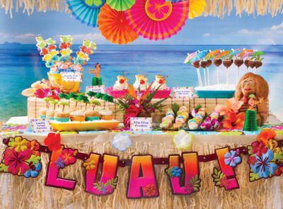 Гавайская вечеринка для детей сценарий