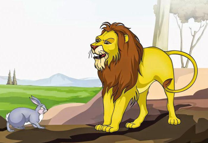 Сказка про льва