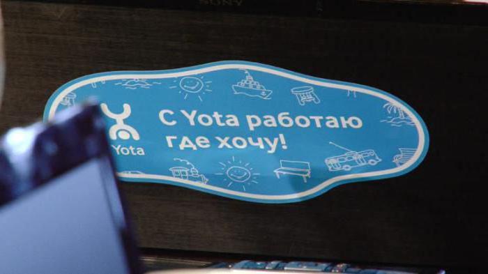 yota тарифы