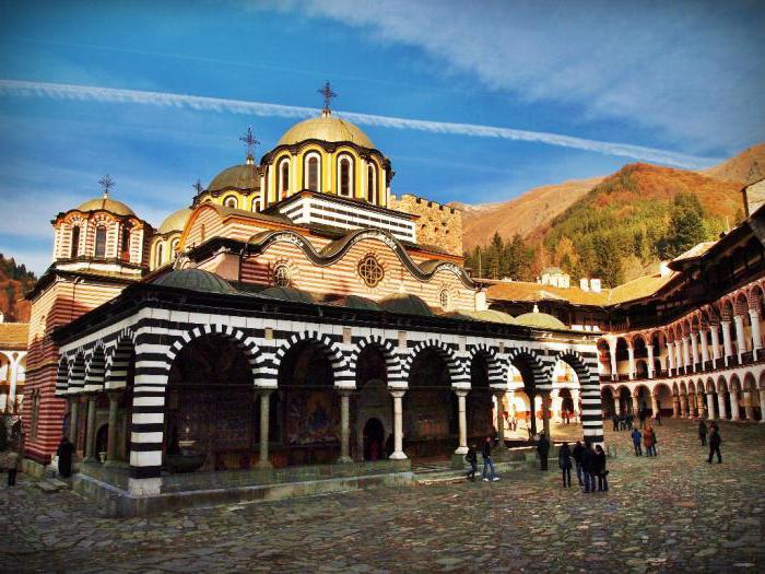 Главная святыня Болгарии - Рильский монастырь