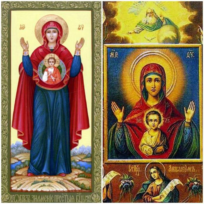 наиболее список всех икон пресвятой богородицы с фото двери