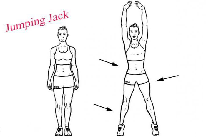 упражнение джампинг джек