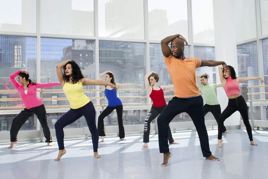 aerobics dance music
