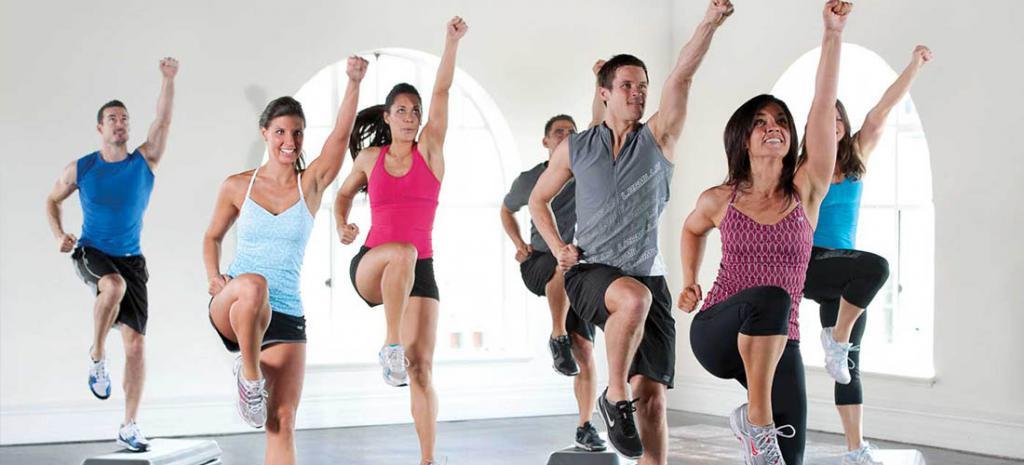 dance aerobics at home