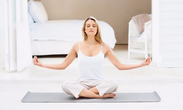 start doing yoga on your own at home