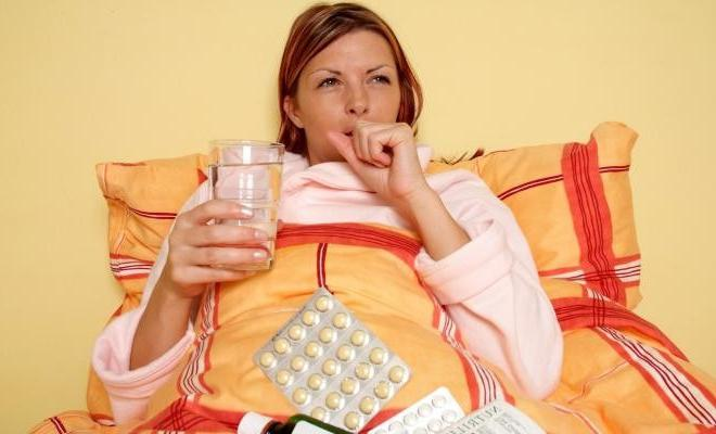 Как лечат простуду беременным