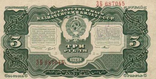Деньги СССР. Банкноты СССР