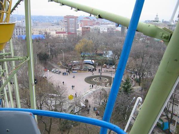 ростов на дону колесо обозрения парк революции фото