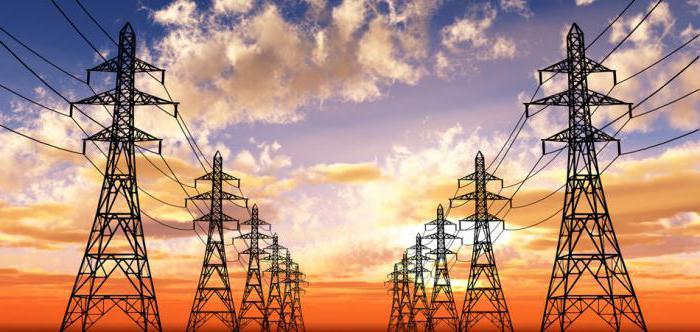 электроэнергия это