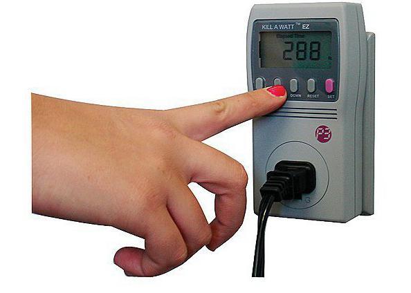 как посчитать потребляемую мощность электроприбора