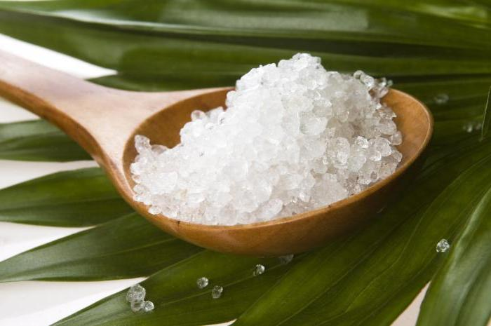свойство поваренной соли