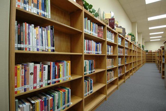 школьная библиотека правила пользования учебниками