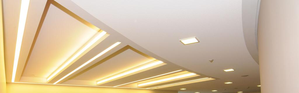 shine and luxury on the ceiling