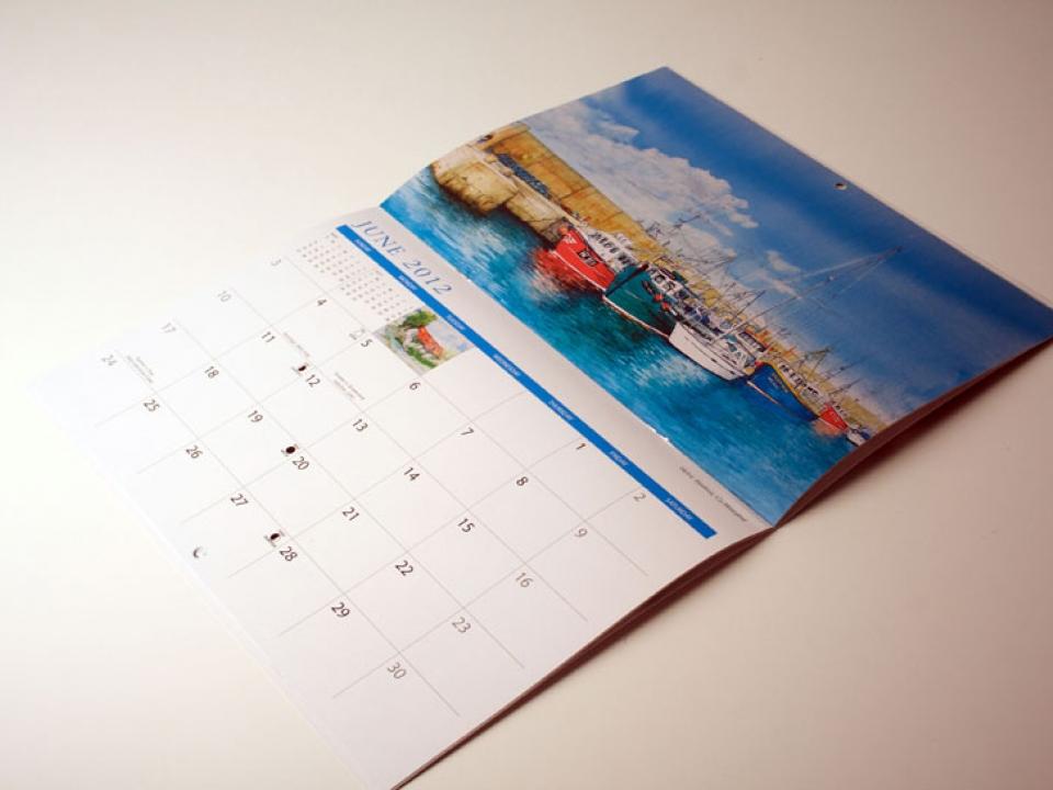специфика оформления календаря