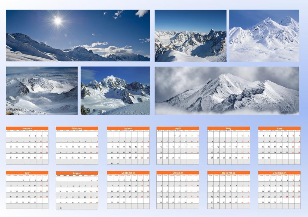из какого материала изготовить календарь