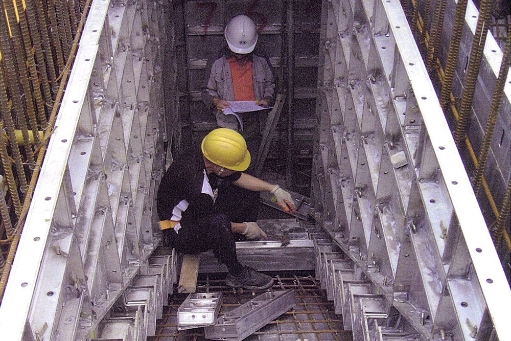 organization specifics in construction