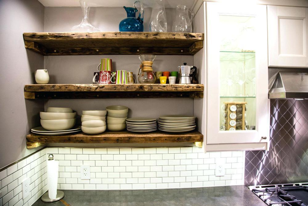 options for creating original shelves