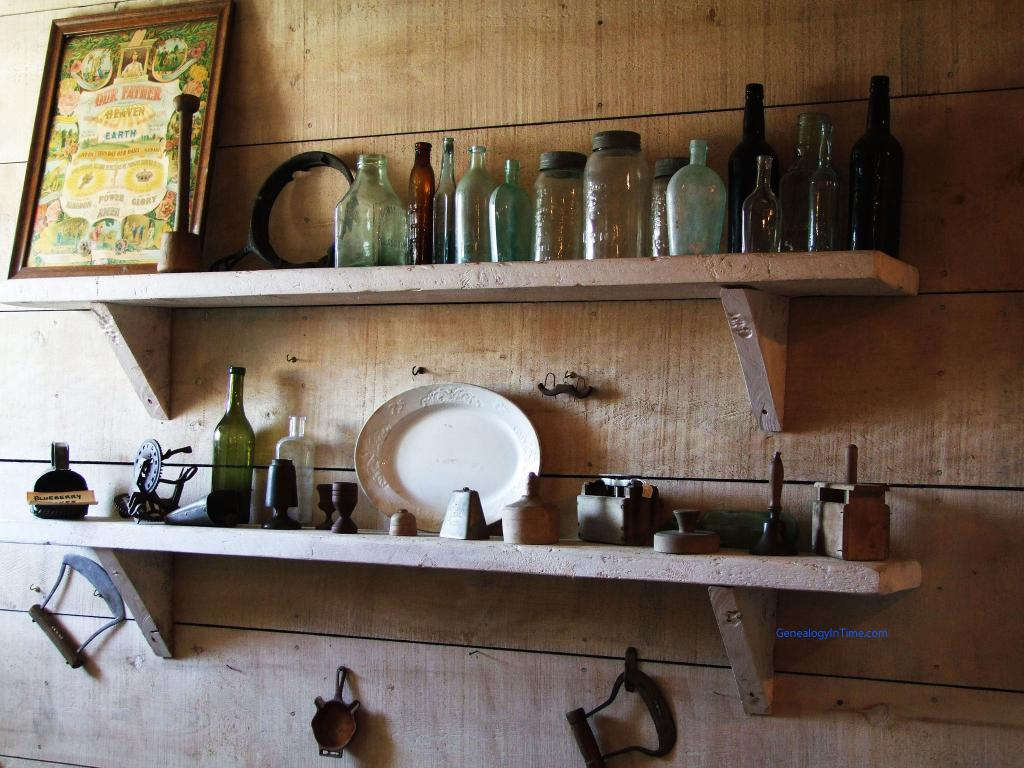 do-it-yourself wooden shelf for spices