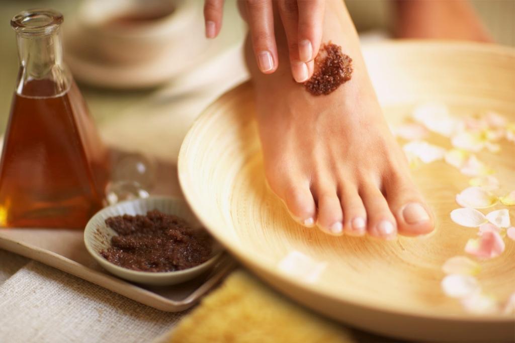 gentle foot care