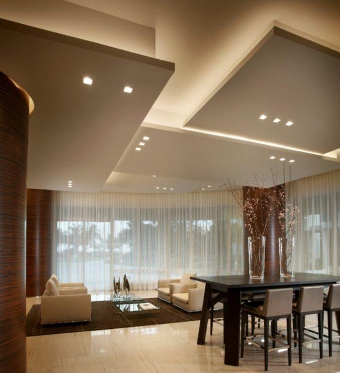 Двухуровневый потолок в спальне: фото идей, материалы, особенности монтажа