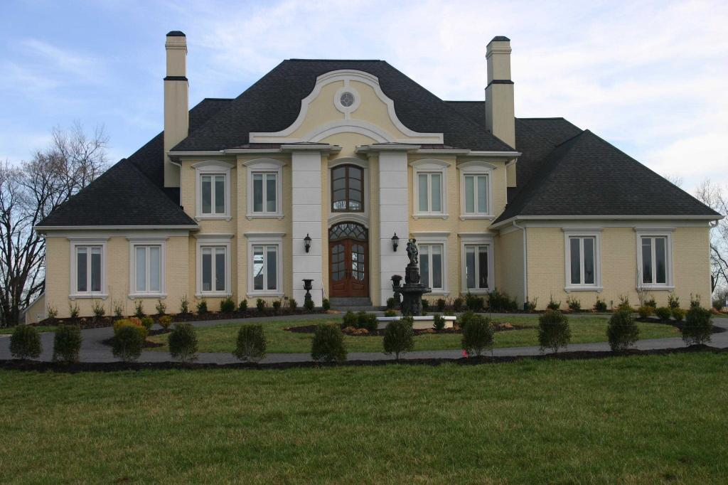 облицовка фасадов загородных домов