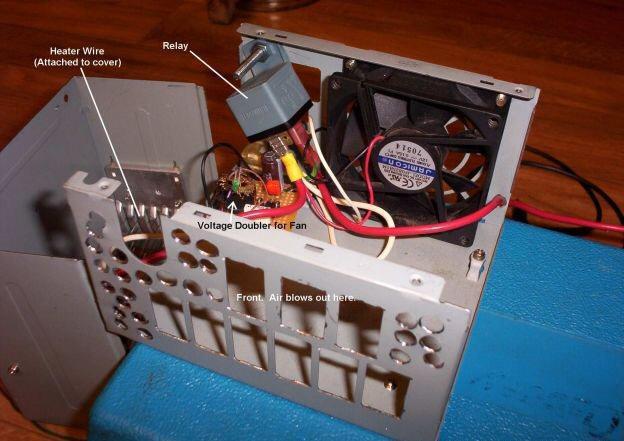 автомобильный тепловентилятор от прикуривателя