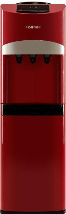 устройство кулера для воды с холодильником