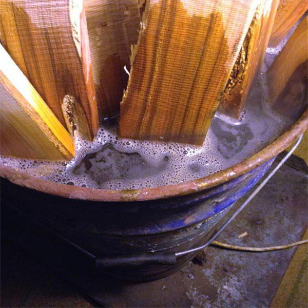 полимер для стабилизации древесины