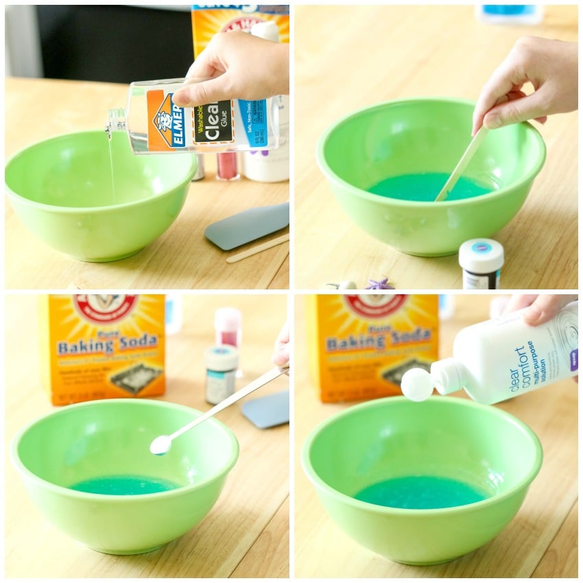 how to make slime from glue pva and tetraborate