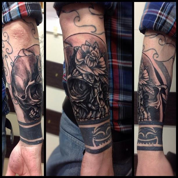 рукава татуировки